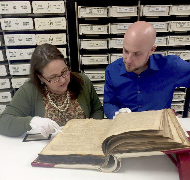 Walker County Clerk's Office works to preserve history, deed