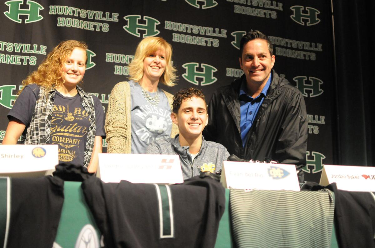 IN PHOTOS: A look at Huntsville High School's National Signing Day ceremony