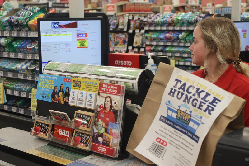 Grocery stores kick off Souper Bowl of Caring campaign