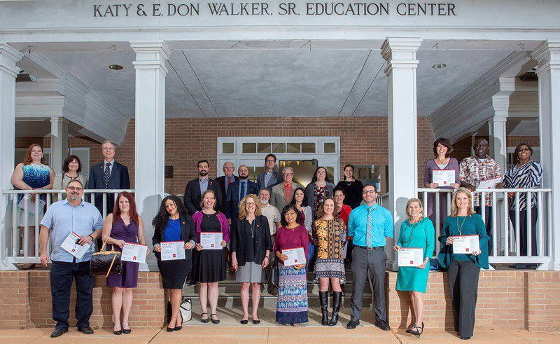 Faculty receive national credential in teaching excellence