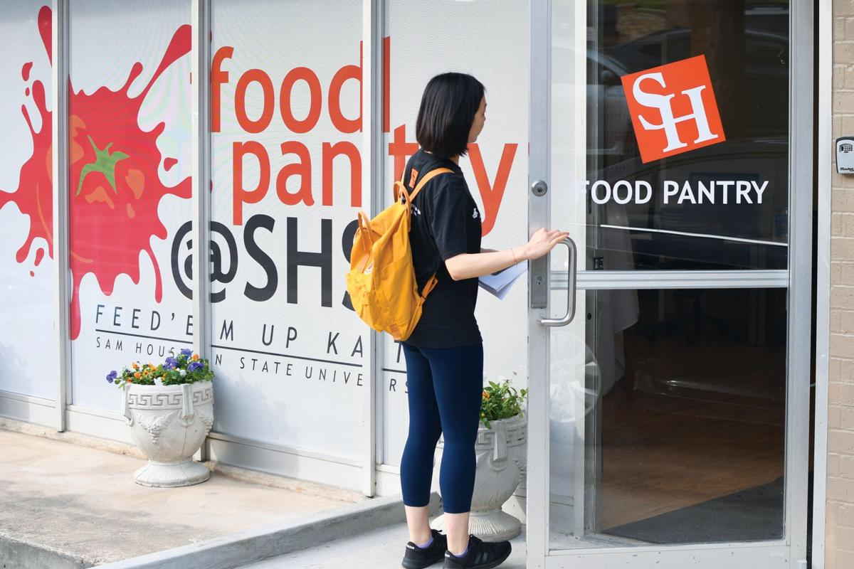 Sam Houston State opens expanded food bank to benefit students with food insecurity