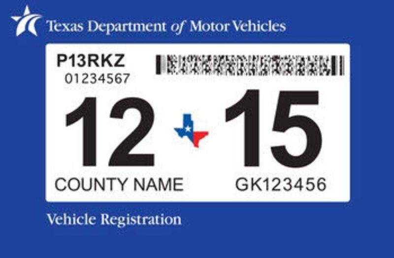 Print car registration online texas 13