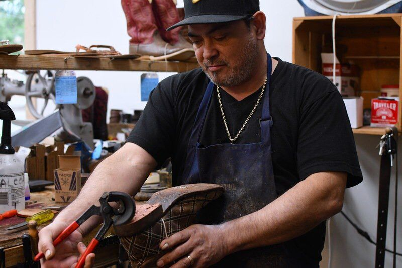 A world-class shoe cobbler