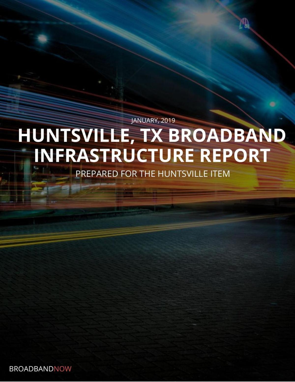 Huntsville broadband report