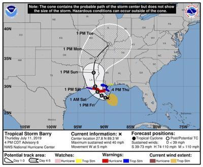 Gulf Coast braces for first hurricane of the season