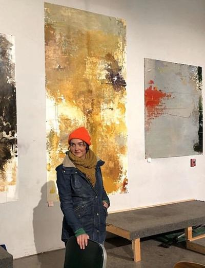Caitlin Mathes tried something new with an interactive show at Cherry Artspace. (photo provided)