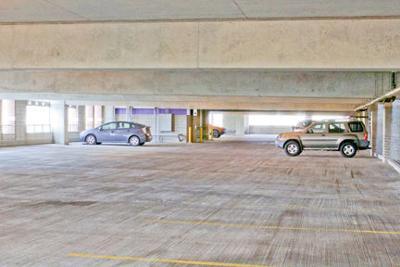 Upper Levels of Parking Garage