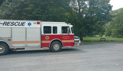 Trumansburg Fire Department at Taughannock Falls
