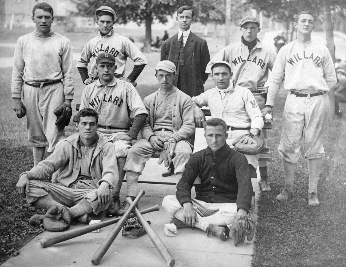 Baseball Team at Willard State Hospital