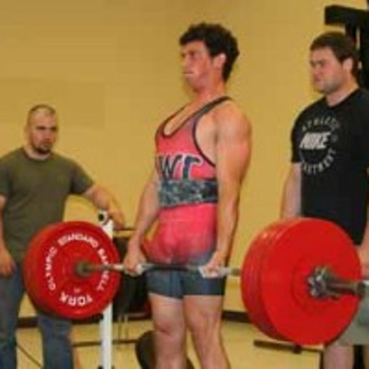 Ithacan wins division, records fall at powerlifting meet