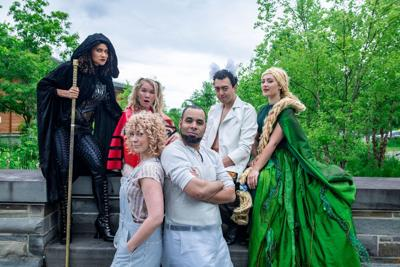 """The cast of the Hangar Theatre's """"Into the Woods,"""""""
