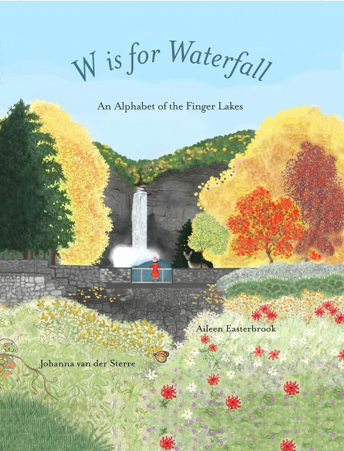 Book Jacket, W is for Waterfall