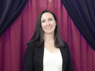 Katelin Olson, who was just recently elected to the Ulysses Town Board at the 2019 Trumansburg Area Chamber of Commerce gala.