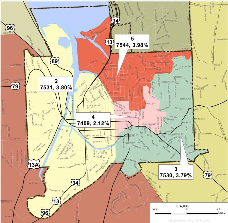Search Homes For Rent By School District: Tompkins County OKs Commission's 14-District Map