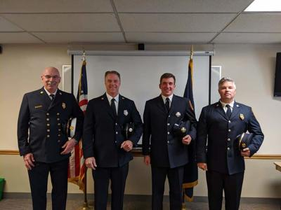 Ithaca Fire Promotions and Swearing-In