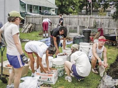 OSEMA students at work.