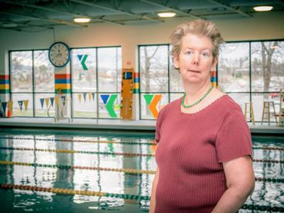 Amelia Habicht suffered a stroke in 2009. She's since begun participating in aquatic therapy at the local YMCA.