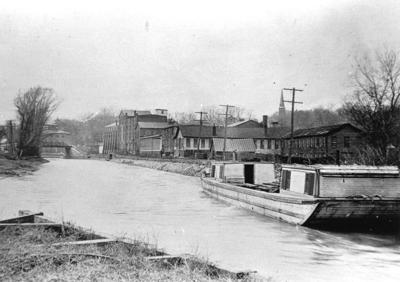 Barge Canal in Seneca Falls
