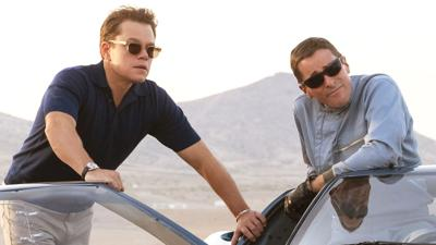 """Ford v. Ferrari"" stars Matt Damon and Christian Bale in a Formula One automobile technology arms race. (Photo online)"