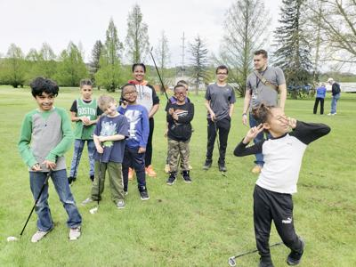 The Friends of Newman group has partnered with the Ithaca Youth Bureau to give kids a chance to play golf.