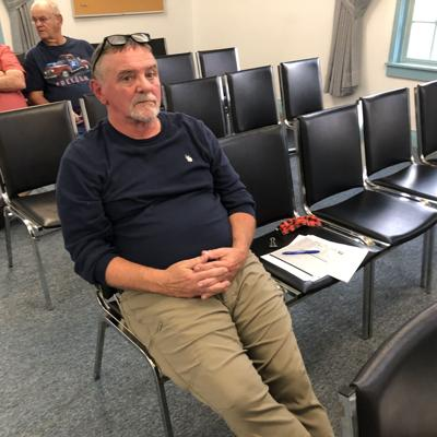 Michael Maxwell, Spencer Town assessor, addressed concerns of the town board that he should make himself more available to taxpayers at a meeting of the Spencer Town Board Sept. 14.