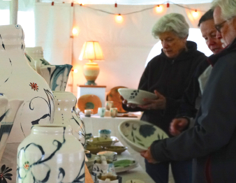 A view of some of the available merchandise at the Finger Lakes Pottery Tour, being held May 11 and 12. (Photo provided)