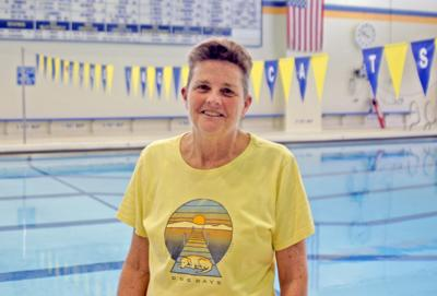Lansing High School swimming and diving head coach Diane Hicks-Hughes is the first female president of NISCA since the organization was established 85 years ago.