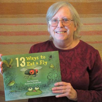 """Local science writer Sue Heavenrich's new book, """"13 Ways to Eat a Fly,"""" is due out mid-February."""