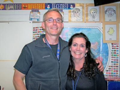 Larry and Karen Glanton