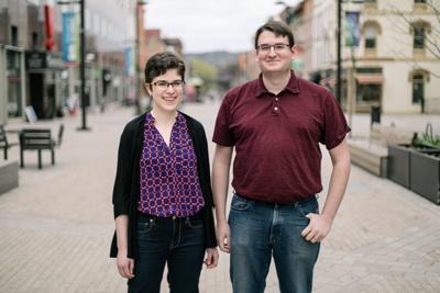 Sarah Barden and Seth Wraight