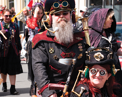Get dressed up in your best steampunk outfit for the end-of-September festival in Cortland County. (Photo provided)
