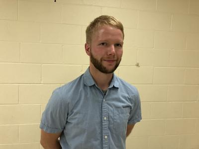Tyler Koski, newest Spencer Village Trustee, was sworn in at the start of the board's Aug. 30 meeting. Koski fills the vacant trustee seat left by Gilbert Knapp. As former deputy mayor, Knapp moved into the position of mayor after Ken Sutfin resigned from the job.