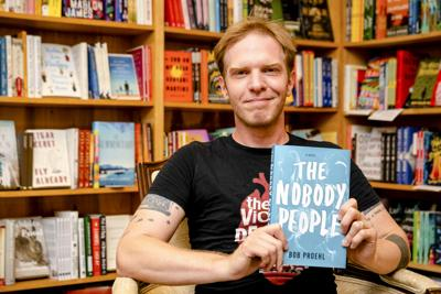 "Bob Proehl, an Ithaca-based author, has just released his newest book, ""The Nobody People,"" a second foray into science fiction. (Photo by Casey Martin)"