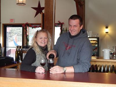 Amy and Mark Renodin of Six Mile Creek Winery