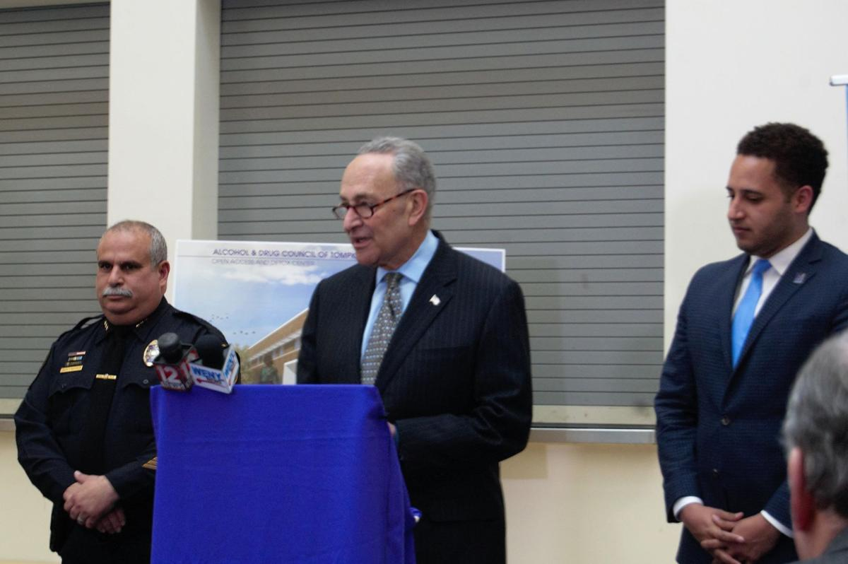 Schumer at the Alcohol and Drug council