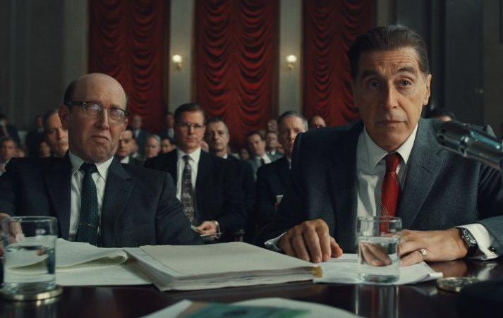 """Al Pacino plays Jimmy Hoffa in """"The Irishman,"""" one of BVC's top movies of the year. (Photo from Netflix)"""