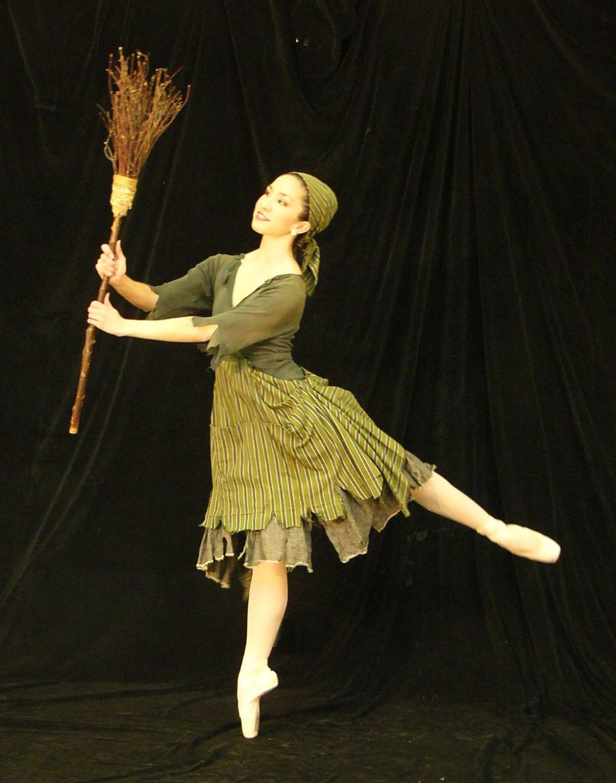 Cinderella with Broom