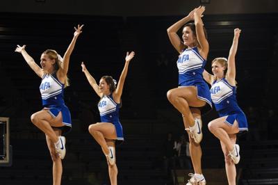 The attire of cheerleading