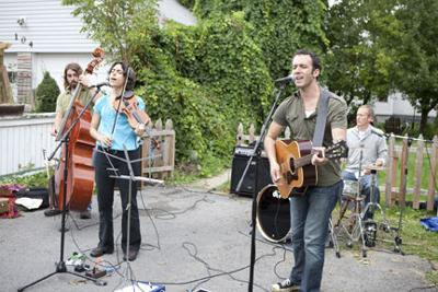 Not From Wisconsin at 2010 Porch Fest
