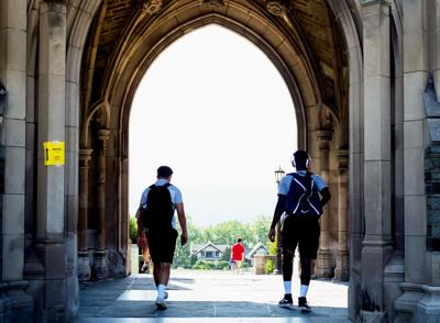 Cornell University scene