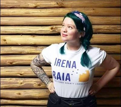 Irena Raia announced she will run for a seat on the Tioga County Legislature.