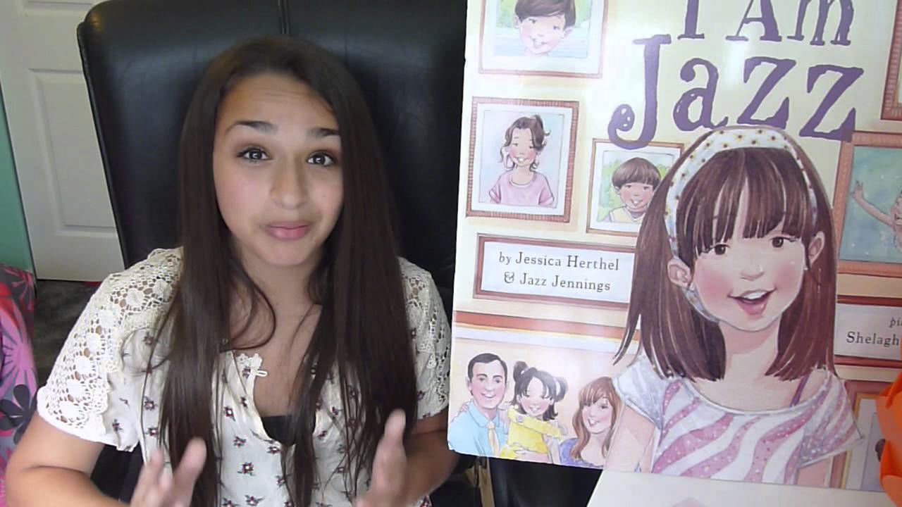 Jazz Jennings, co-author of 'I Am Jazz'