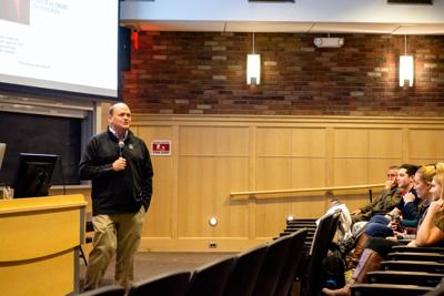 Tom Reed at Ithaca College