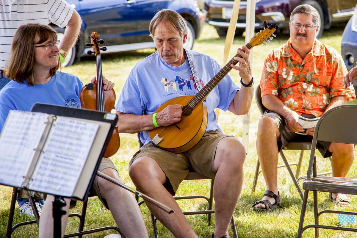 Last year's Fiddler's Gathering, held at Lakewood Vineyards
