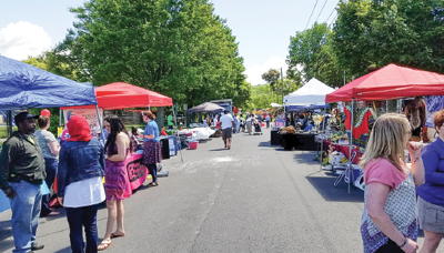 Street vendors from GIAC's Festival of Nations Street in 2017 (Photo: provided)