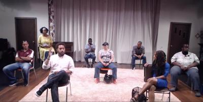Screenshot of PASC dialogue