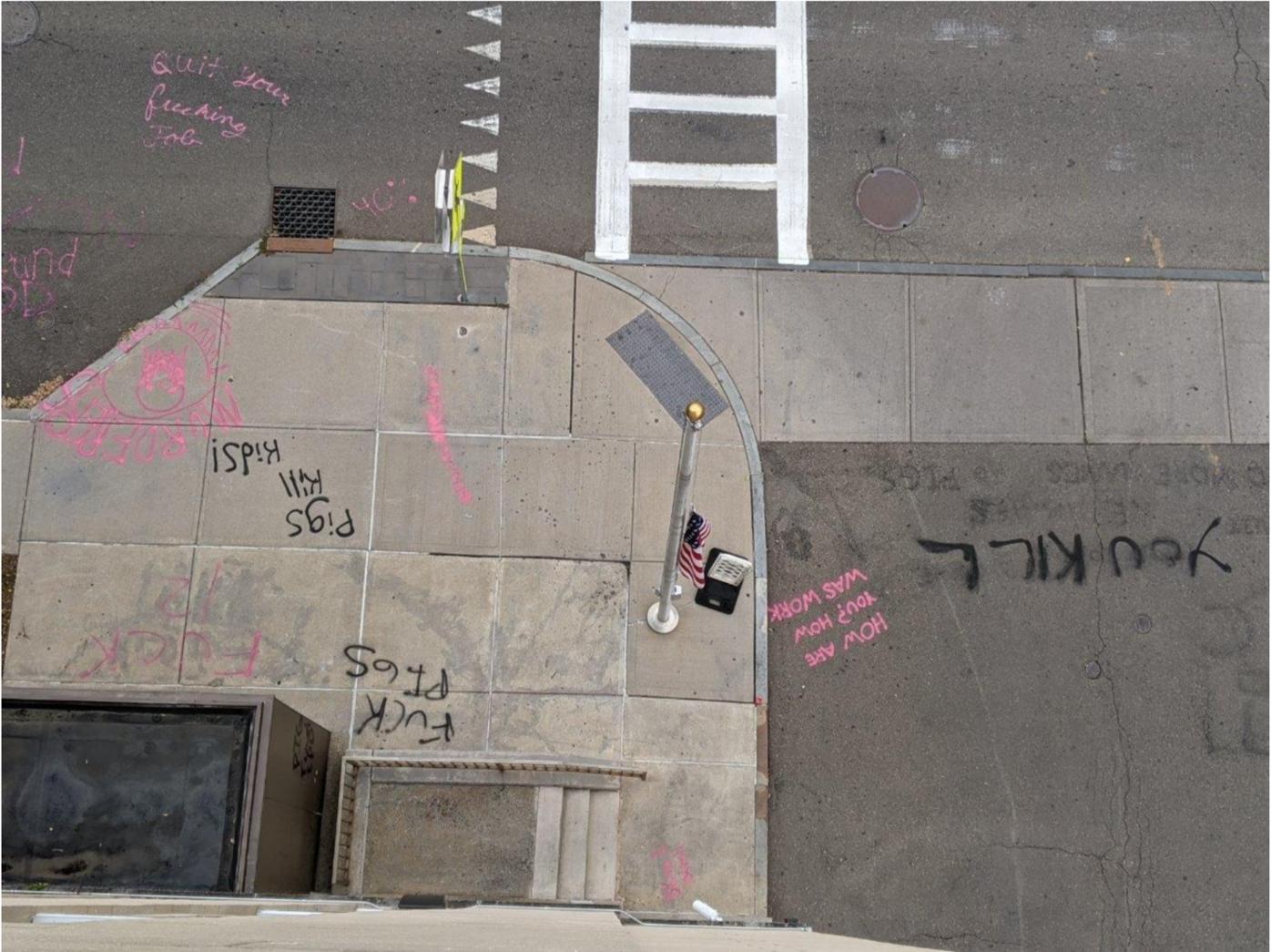 IPD graffiti