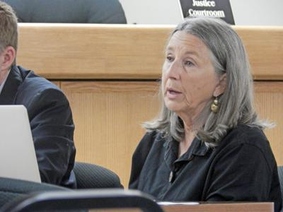 Dryden Town Councilwoman Alice Green (above), along with Councilman Dan Lamb and Town Supervisor Jason Leifer, voted in favor of accepting a license from NYSEG for two parcels at a meeting on Sept. 19.
