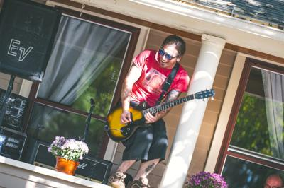 Porchfest is Ithaca's annual celebration of community music, with dozens of porches around the city acting as stages. (Photo by Casey Martin)