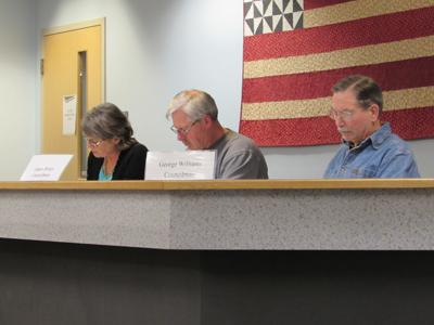 Members of the Candor Town Board review local agriculture building laws at meeting Jan. 14